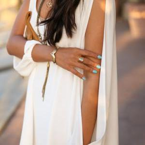CUTE CHIFFON SHORT DRESS