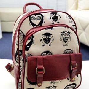 European Style Cute Leisure Owl Pri..
