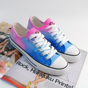 Sexy Fashion Star Canvas Shoes