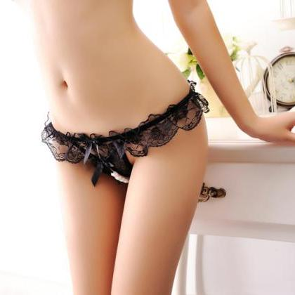 Sexy Briefs underwear Women hollow ..