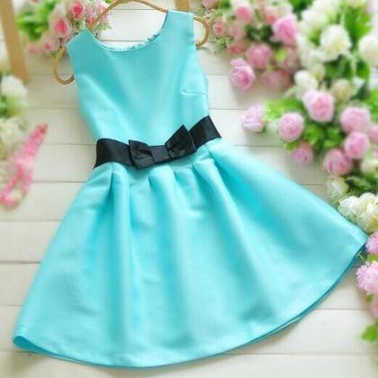 Ribbon Candy -colored Dress DG61411