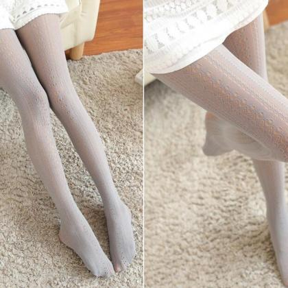 Knit Girls Ladies Women Thigh High ..