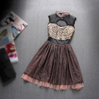 Summer Fashion Embroidered Dress