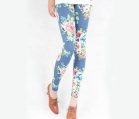 Fashion Blue Floral ..