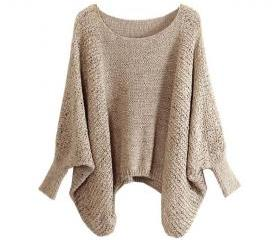 Sweater With Batwing..