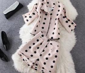 Black Dots Jacket Sh..
