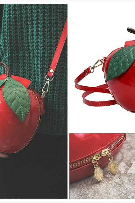 Cute Apple single shoulder bag#YYL-34