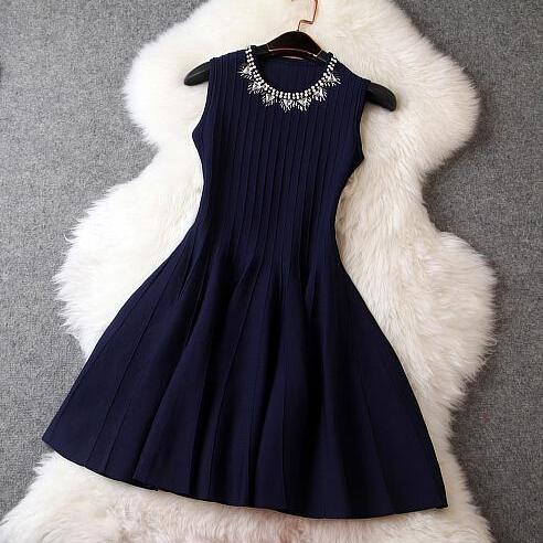 Fashion Woolen Dress BB918FB