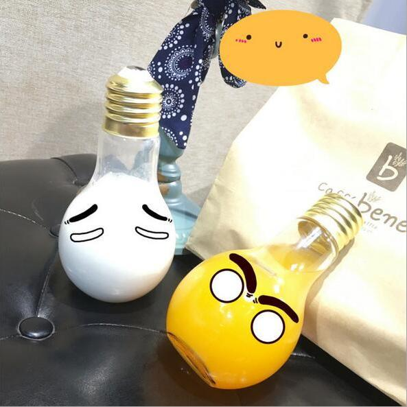 Free shipping haraguku light bulb glass cup#YYL-42